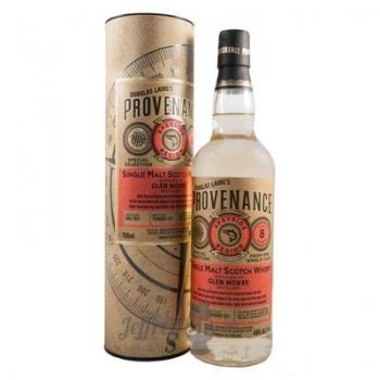 whisky glen moray 8 yo (2008) provenance 0.7l 0.7l