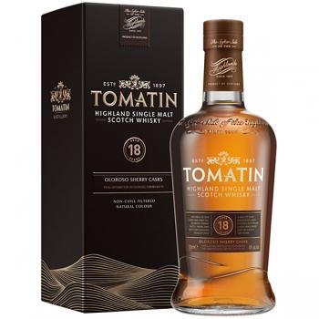 whisky tomatin 18yo 0.7l