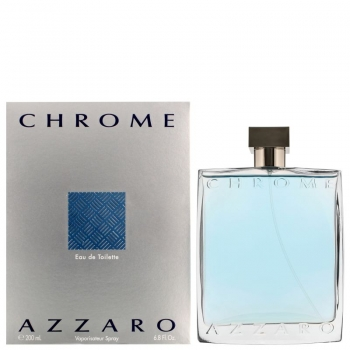 AZZARO CHROME APA DE TOALETA 200 ML