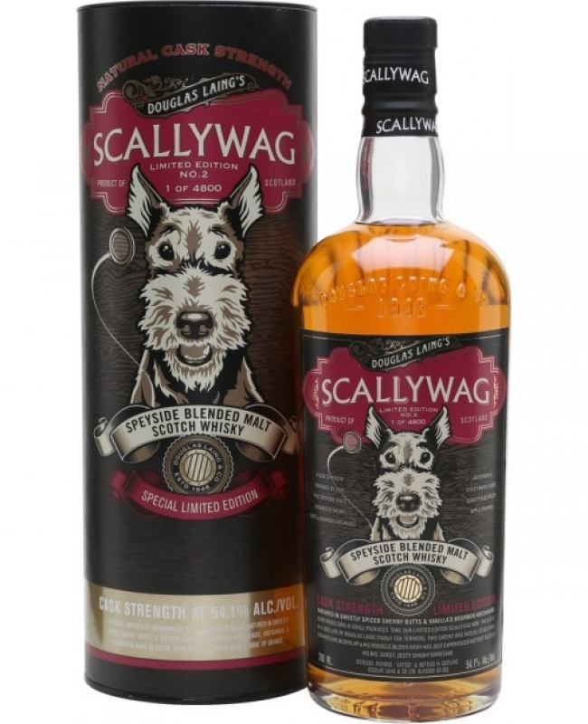 WHISKY SCALLYWAG CASK STRENGHT 0.7L 0