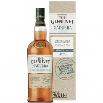 WHISKY GLENLIVET  NADURRA PEATED 0.7L