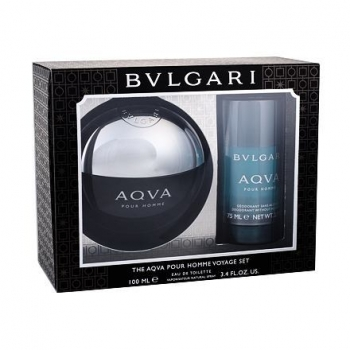 BVLGARI AQVA MEN SET ( EDT 100ML *STICK 75ML)