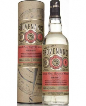 whisky benriach 6 yo ( 2010) provenance 0.7l