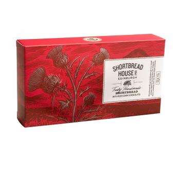 BISCUITI SHORTBREAD CU PERLE DE CIOCOLATA NEAGRA BOX 170G