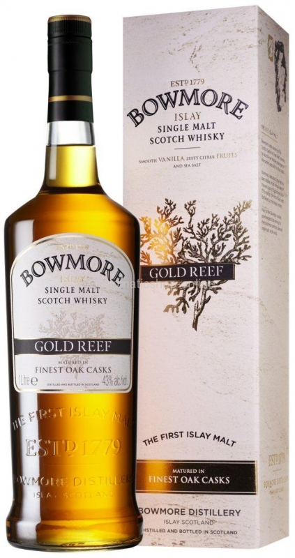 WHISKY BOWMORE GOLD REEF 1L 0