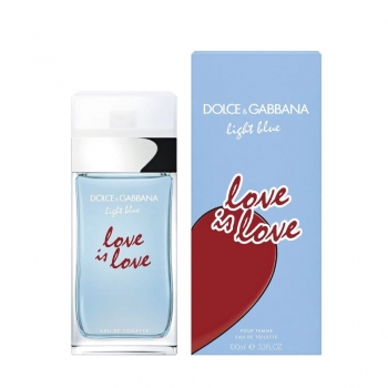 DOLCE & GABBANA LIGHT BLUE LOVE IS LOVE APA DE TOALETA 100 ML