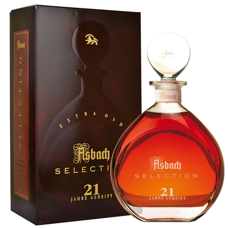 BRANDY ASBACH 21 ANI SELLECTION 0.7L 0